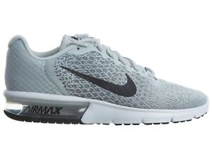 6e4f65eb44 Nike Air Max Sequent 2 Womens 852465-001 Platinum Grey Running Shoes ...