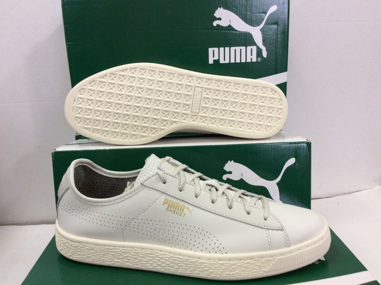 Puma Cestino Classico Morbida Pelle Da Uomo Scarpe da ginnastica Scarpe da ginnastica, Taglia /EU 42