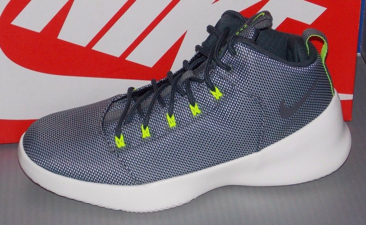 MENS NIKE HYPERFR3SH in colors WOLF GREY / DARK GREY / BLACK / VOLT SIZE 9.5 The most popular shoes for men and women