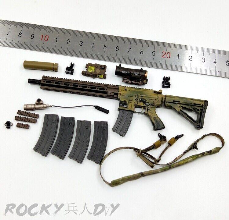HK416 rifle para es 26020R 1 6 Unidad de misión especial CAG alterador 1 6 12