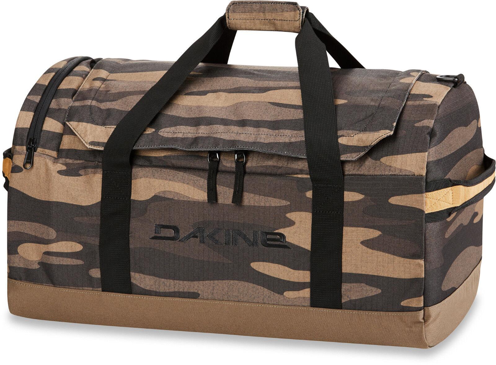 Dakine eq duffle 50l Bag bolsa de gimnasia bulto de 50 litros Field camo nuevo