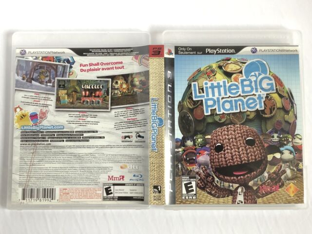 Little Big Planet (Sony Playstation 3, 2007) Complete