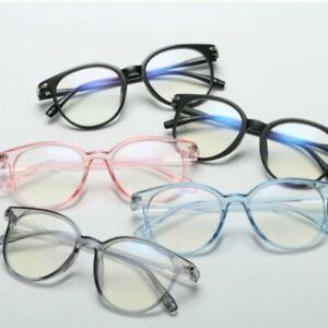 Vintage-Round-Frame-Glasses-Men-Women-Clear-Lens-Optical-Spectacle-Multicolor