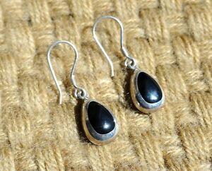 Image Is Loading Mint Silpada 925 Sterling Silver Black Onyx Teardrop