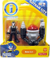 Imaginext Dc Super Friends Collection_bane Suit 2 Inch Figure_new & Unopened_mip