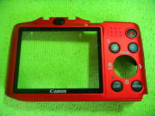 GENUINE CANON SX160 IS BACK CASE RED PARTS FOR REPAIR