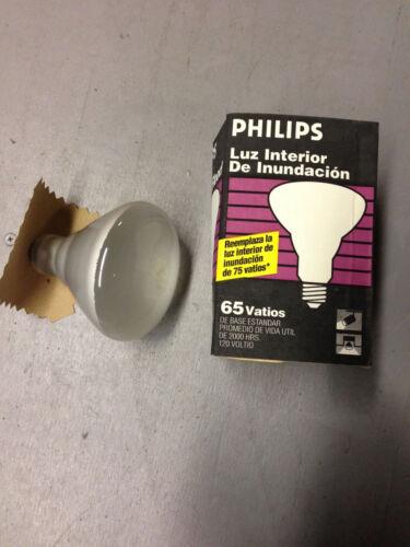 24 pack Philips 65BR//FL60 65-Watt BR40 Light Bulb