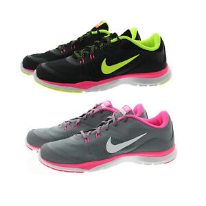 6abd17c58d504 Nike 724858 Womens Flex Trainer 5 Low Top Running Athletic Shoes ...