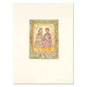 Edna-Hibel-1917-2014-034-Dialogue-of-David-and-Bathsheba-034-Ltd-Ed-Lithograph