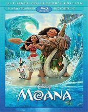 Moana 3D 01/17 3D (used) Blu-ray ** No Cover Art, No case