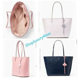 finest selection good a few days away Details about NWT Authentic KATE SPADE NEW YORK kelsey Leather Tote CHOOSE  COLORS