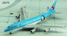 """JET-X~Korean Air B747-400~""""Mona Lisa""""~Diecast~JET470"""