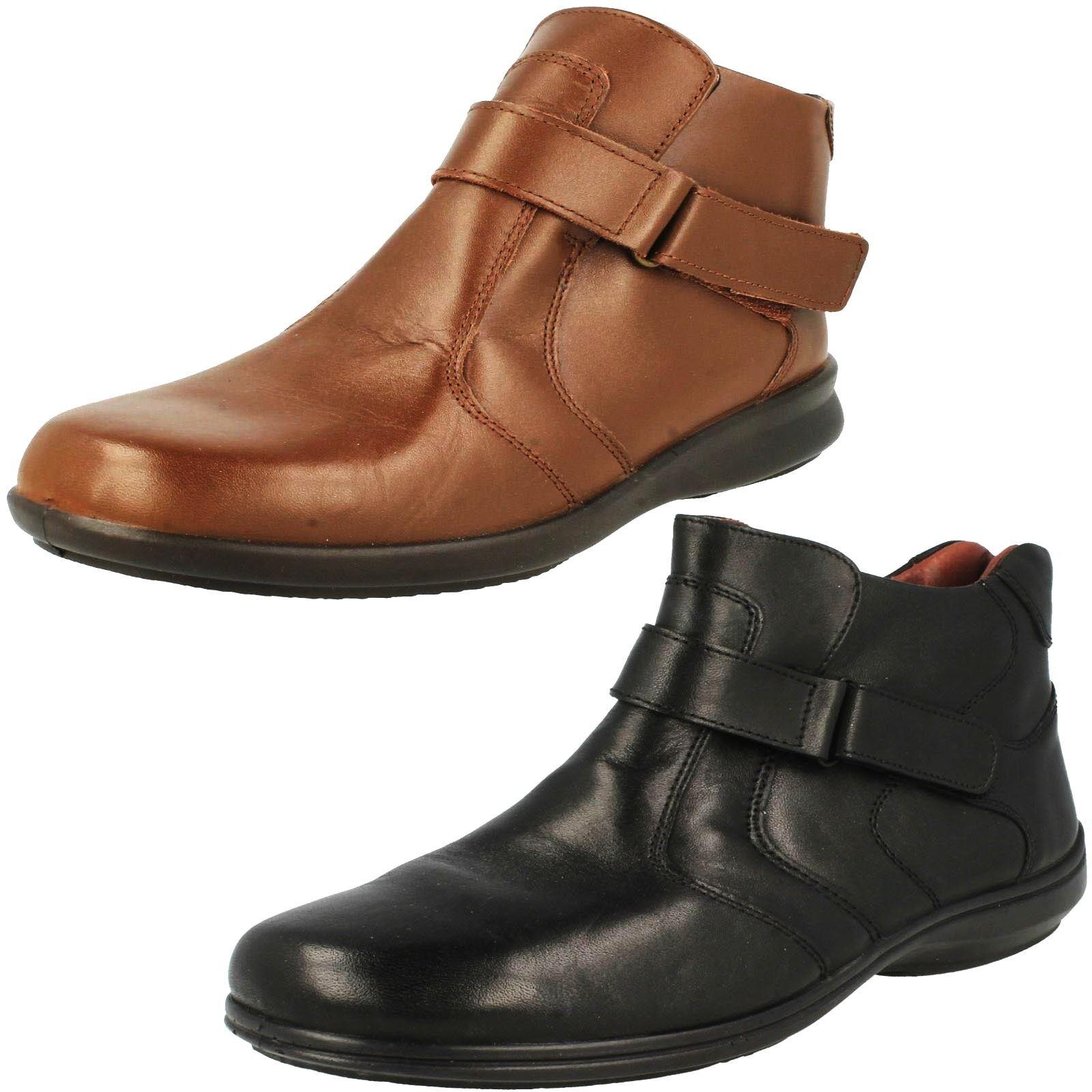 Ladies Easy B Strap Bnkle Boots Truro Wide Fit Ladies Shoes