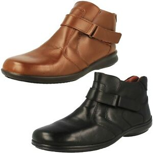 Femmes-Easy-Bracelet-Bottines-Truro-Coupe-Large-Femmes-Chaussures