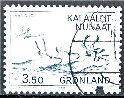 Grönland Briefmarken Briefmarken Dk Grönland Gestempelt Minr 131 Tropf-Trocken