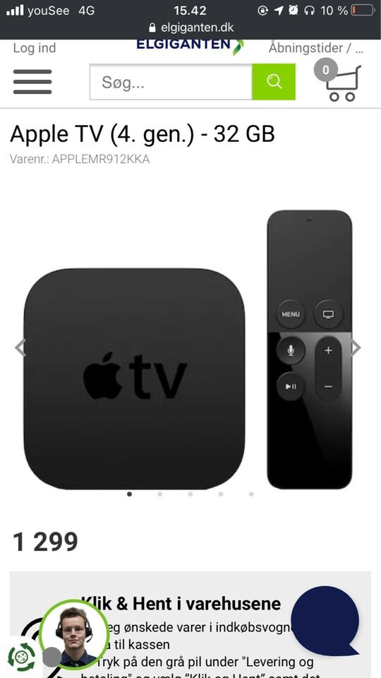 Appel Tv gen.4, Appel tv, Perfekt