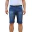 Bermuda-Uomo-Jeans-Denim-Corto-Tasche-America-Pantaloncino-Blu-Shorts-Casual-t miniatura 14