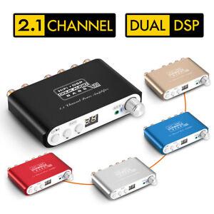 Douk-Audio-Q100-2-1CH-Subwoofer-Bluetooth-DSP-Digital-Power-Amplifier-Stereo-Amp