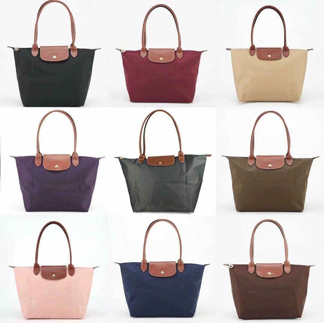 New Longchamp Le Pliage 1899 Nylon Tote Handbag Travel Bag L