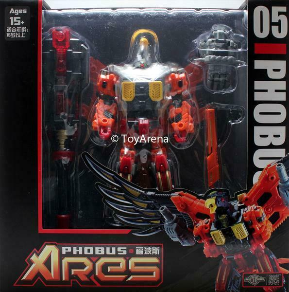 TFC Spielzeugs Project Ares TFC-05 Phobus Transformers Wirkung Figure