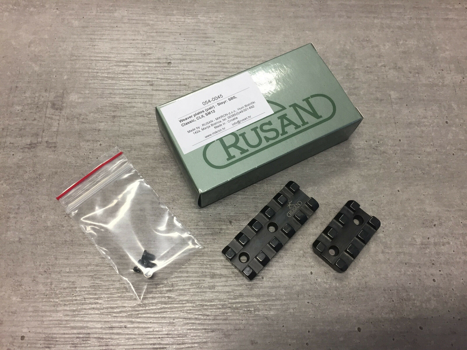 Rusan Weaver bases for Steyr  SBS, Classic, CLII, SM12