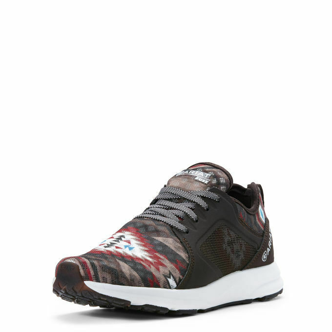 Ariat Women's Fuse Black & Brown Aztec Athletic shoes 10027319