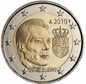 2 euros commémorative  Luxembourg 2010 - Les armoiries du Grand-Duc