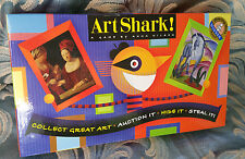 *NEW* Art Shark A Game By Anna Nilsen (Collect Great Art, Auction, Hide, Steal)