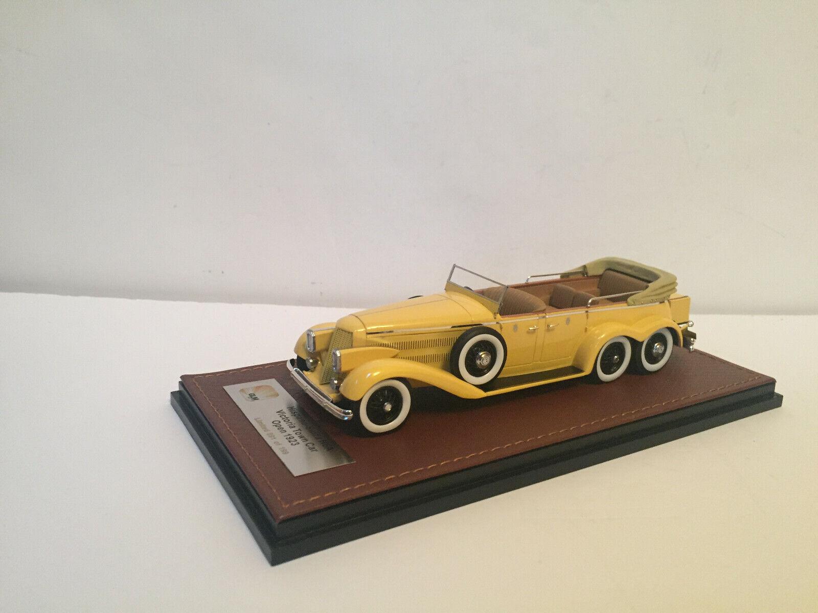 ahorra hasta un 80% 1 43 1923 1923 1923 Hispano-Suiza H6A victoria Town Coche abierto GLM  autorización