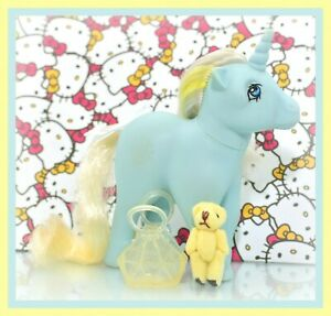 My-Little-Pony-MLP-G1-Vtg-ITALY-Italian-Variant-Sunbeam-Unicorn-NIRVANA