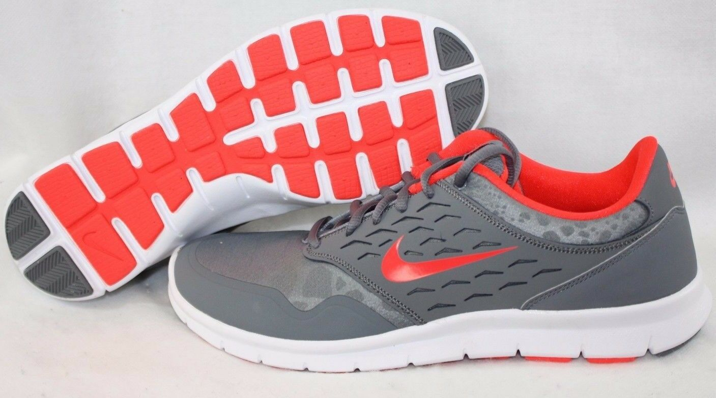 NEW Womens NIKE Orive Print 749985 061 Grey Red White Sneakers shoes