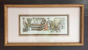 Details about Fine Vintage SIGNED KEITH LEE Limited Edition Art Print THE  ATTIC Numbered NR