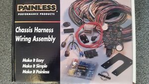 Tremendous Chassis Wire Harness Painless Wiring 10101 Ebay Wiring Cloud Tobiqorsaluggs Outletorg