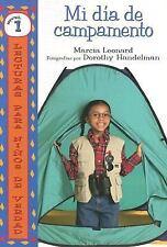Mi Dia De Campamento/My Camp-out (Lecturas Para Ninos De Verdad - Nive-ExLibrary
