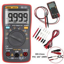 AN8008 True-RMS LCD Digital Multimeter 9999 Counts Wellenspannungs-Amperemeter r