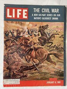Life Magazine January 6 1961 The Civil War - President Kennedy's Cabinet VINTAGE