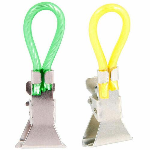 5PCS Thé Serviette Suspension clips clip on Crochets Boucles Serviette à main Cintres UK