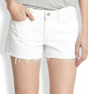 Low Nieuwe Maat 25 afgesneden Shorts Verzwakte 0 Rise Jean J merk White qtrxzvAtZ