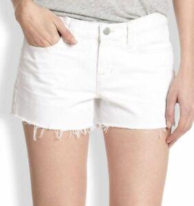 Verzwakte Low afgesneden J 25 Rise Shorts White Maat merk Nieuwe Jean 0 w7qBFO