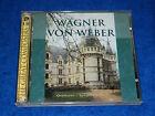 2 CD WAGNER VON WEBER overtures SYMPHONY n°1 rienzi faust NUREMBERG scholz