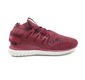 Adidas-Originals-Tubular-Nova-Primeknit-PK-Mystery-Red-Mens-Size-13-Shoes-BB8406