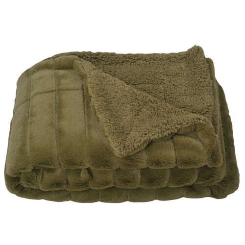 Super Soft Sherpa Blanket Fleece 60x80 Lightweight Cozy Couch Bed Blanket Fur