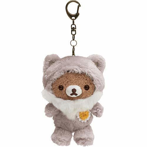 Rilakkuma Fairy Tale Wolf Outing Plush Keychain MY82701 San-X kawaii Gift NEW