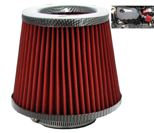 Carbon Fibre Induction Kit Cone Air Filter Chevrolet Astro 1984-2005