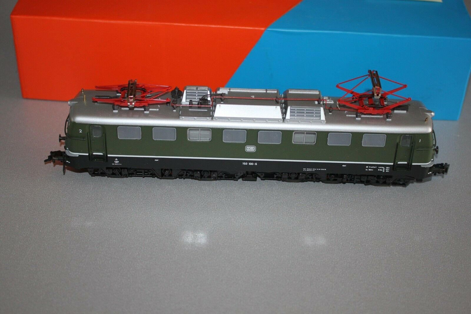Roco 43584 Elok Baureihe 150 -6 DB gr 65533;, n Spur H0