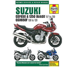 suzuki gsx 650 fa abs 2010 haynes service repair manual 4798 ebay rh ebay co uk suzuki gsx 1250 fa service manual pdf Suzuki GSX1400