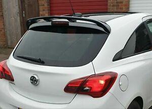 Opel Vauxhall Corsa E 3d Rear Wing Roof Spoiler Pu Quality Unprimed Ebay