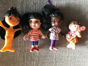 Cute Doll Action figures Dora Playing Guitar - Toys