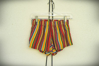 NWT Brandy Melville One Size High Rise Southwestern Hot Short Shorts USA