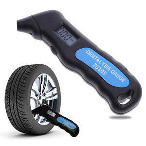 Tire-Pressure-Guage-Digital-Car-Bike-Truck-Auto-LCD-Meter-Tester-Tyre-Gauge